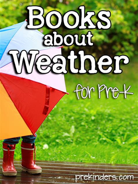 books about weather for pre k prekinders 828 | weather books1