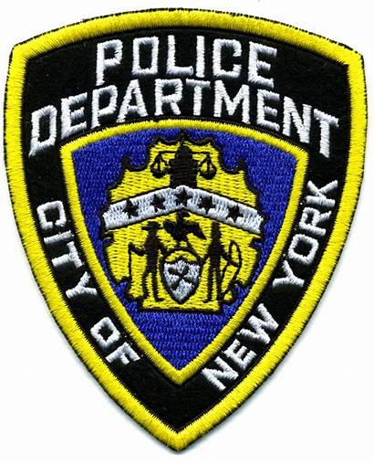 Police Patches Patch Nypd Embroidery Badge Ny