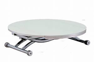 Table Basse Ovale Ikea : perfect table basse relevable colombia blanc with table basse relevable ovale ~ Melissatoandfro.com Idées de Décoration