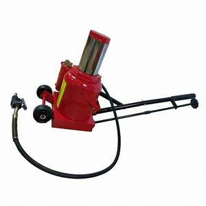 50 Ton Air Manual Hydraulic Bottle Jack Lift Auto Repair