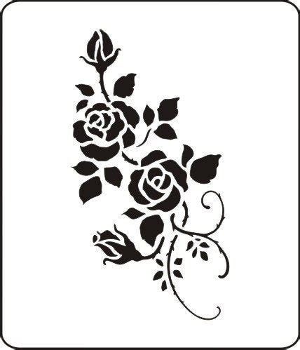 rose stainless steel stencil  making card ss