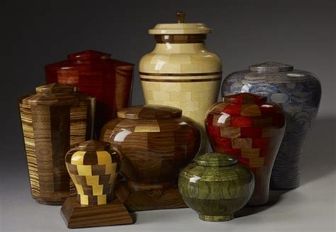 segmented wood turned urns easy woodworking plans kids