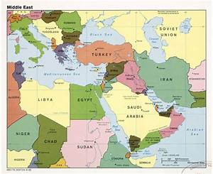 Middle East Map With Capitals | www.imgkid.com - The Image ...