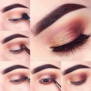 25 Maquillajes paso a paso para resaltar tus ojos cafés