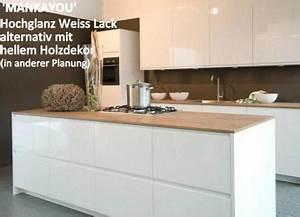 Küche Weiß Hochglanz L Form : einbauk che mankayou 1 k che k chenzeile l form 355x190cm weiss hochglanz lack kaufen bei ~ Bigdaddyawards.com Haus und Dekorationen