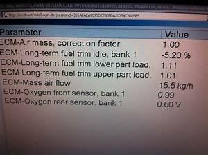 02 Sensor  Fuel Filter   Vida Dice Data Included