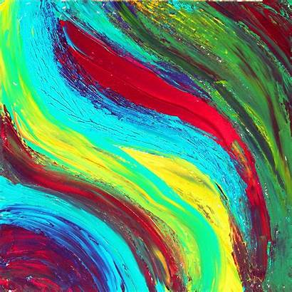 Abstract Colorful Paint Jooinn