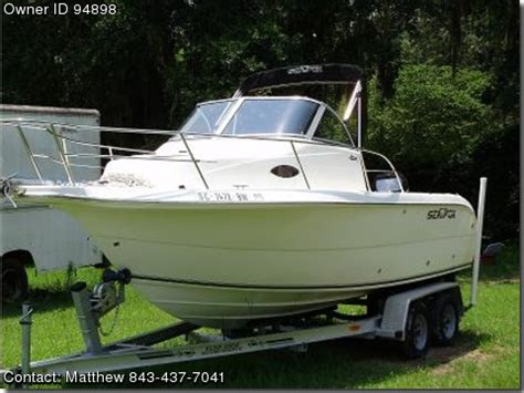 Used Sea Fox 210 Wa Boats For Sale 2005 sea fox 210 wa loads of boats