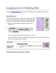 Terms in this set (16). Student Exploration Building Dna Gizmo Answer Key Pdf + My ...