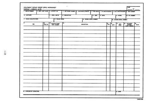 mechanic job card template  images ayenka templates
