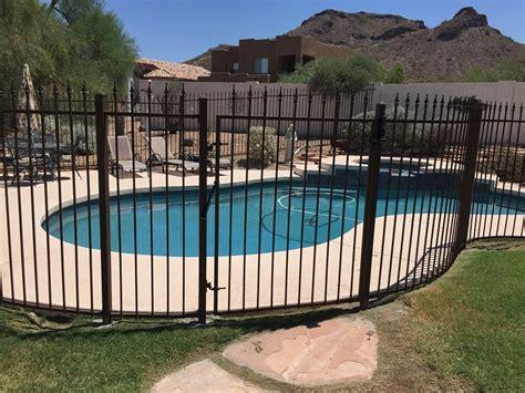 Dcs Wrought Iron Pool Fence