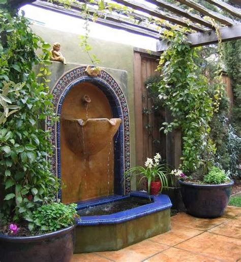 tuscan style garden beautiful landscaping ideas and backyard designs in spanish and italian styles wall fountains