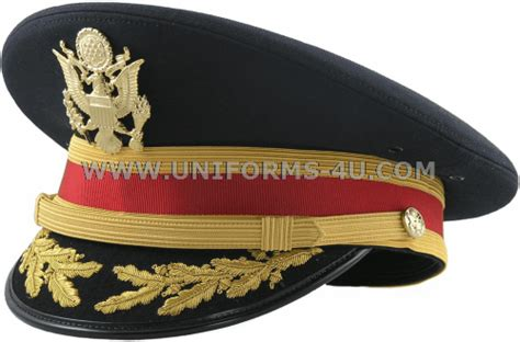 Us Army Service Cap For Field Grade Artillery Field And