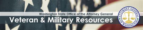 veteran  military resources washington state