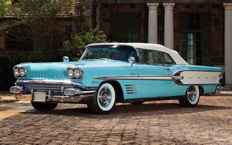 Classic Pontiac Wallpaper by Pontiac Bonneville Custom Convertible 1958 Pontiac