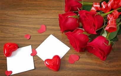 Flower Wallpapers Rose Background Heart Roses Greepx