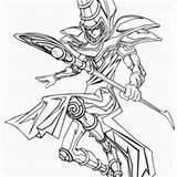 Magician Coloring Dark Pages Yu Gi Oh Drawing Printable Colouring Knight Joker Getdrawings Anime Noahs Ark Getcolorings Netart sketch template