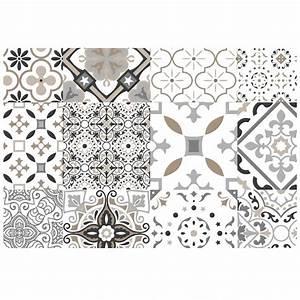 Set De Table Carreaux Ciment : set de table gris taormina motifs carreaux de ciment set de table linge de table linge de ~ Melissatoandfro.com Idées de Décoration