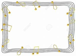 Best Music Note Border #2943 - Clipartion.com
