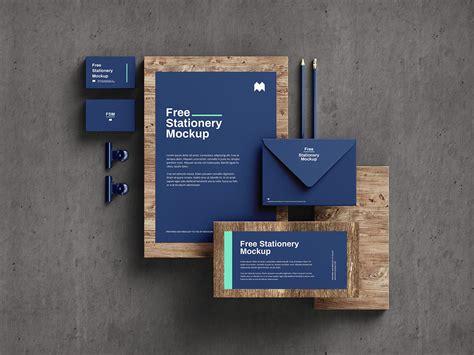 Free stationery mockup - Mockups Design | Free Premium Mockups
