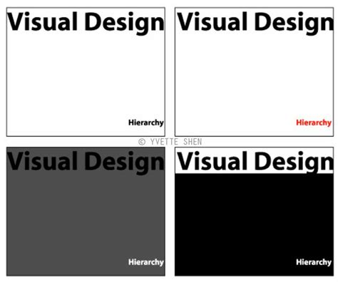 visual hierarchy typography pinterest