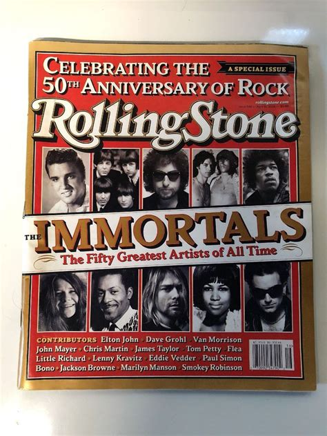 Rolling Stone 50 Greatest Artists - April 15, 2004 - The ...