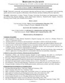 resume for trainer sales trainer resume objective
