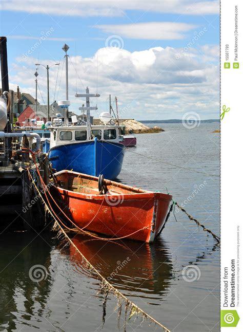 Fishing Boat Accident Nova Scotia by Fishing Boats At Wharf Stock Photos Image 15507793