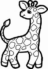 Giraffe Coloring Pages Clipart Printable Colouring Children Wecoloringpage Cartoon Clipartmag Drawings Easy Animated Animal Awesome Webstockreview Zoo sketch template