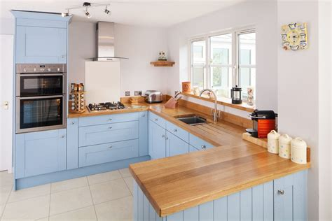 Solid Wood Kitchen Cupboards by Pin By Solid Wood Kitchen Cabinets On Lulworth Blue