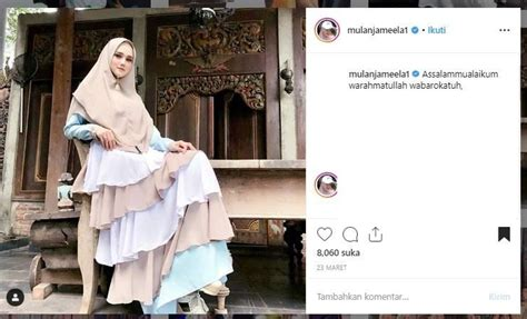 inspirasi hijab syari biar tampil cantik  mulan