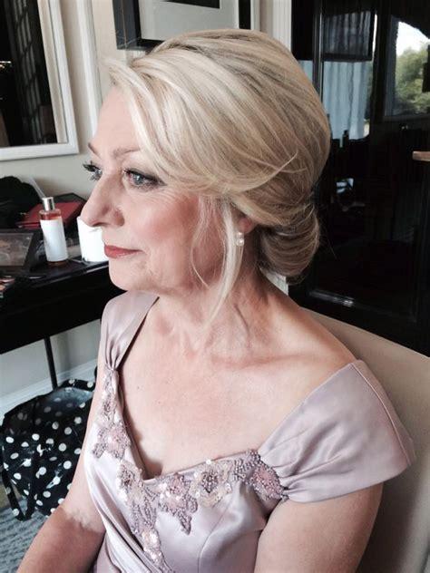 art deco vintage bridal hair makeup bride mother