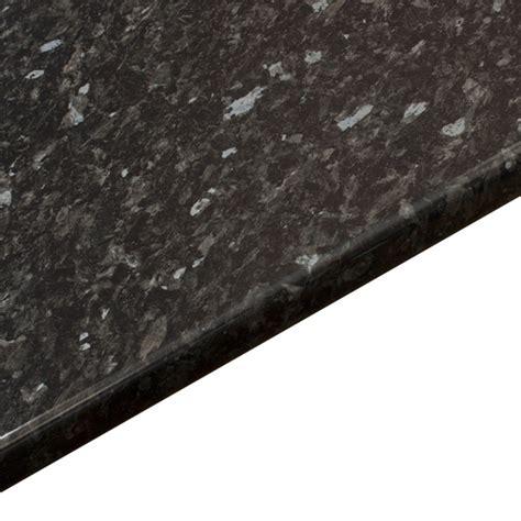 gloss black bathroom worktop everest   mm  mm