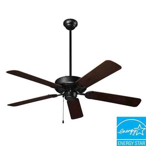 black outdoor ceiling fan nutone wet rated series 52 in outdoor barbecue black