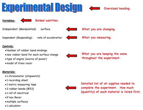 experimental design exles the design of experiments pdf