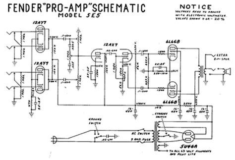 prowess amplifiers fender schematics pro  schematic