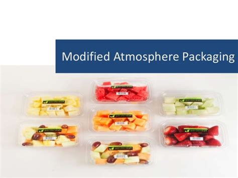 Modified Atmosphere Packaging Weight modified atmosphere packaging in vegetables