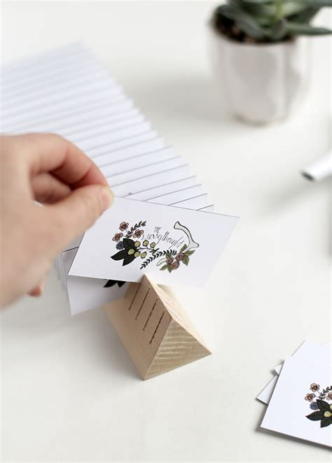 Despite the increasing dominance of online. DIY Wooden Business Card Holder - The Merrythought