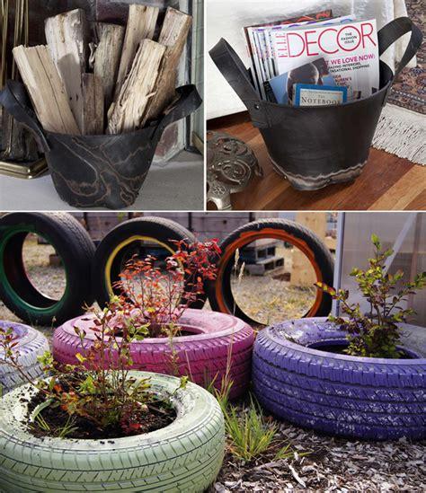 creative ideas  reuse  tires architecture design