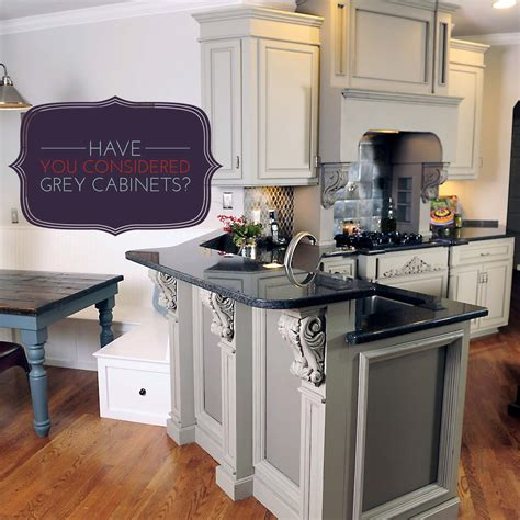Gray Kitchen Cabinets you considered grey kitchen cabinets