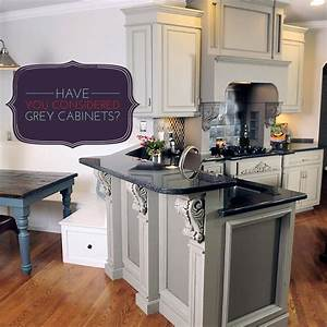 have you considered grey kitchen cabinets 856