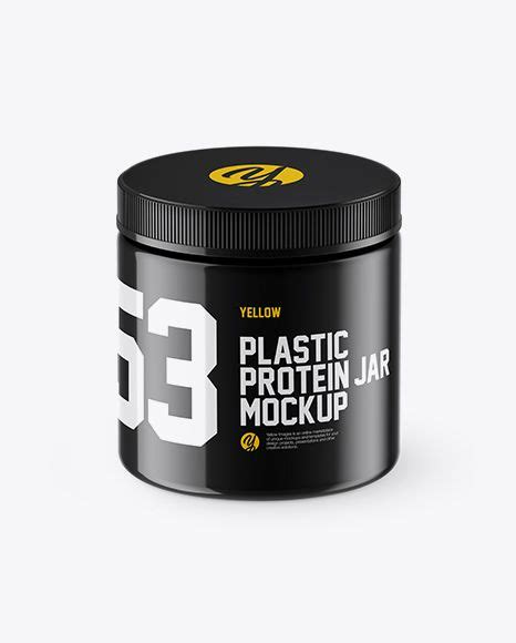 Download and customize the mockups from this glossy plastic cosmetic mockup set in order to create a fully custom cosmetic product package design. Glossy Plastic Protein Jar Mockup (High-Angle Shot) Jar ...