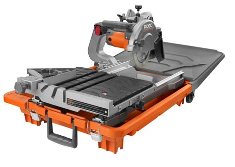Ridgid Tile Saw Home Depot Canada by Ridgid 8 Inch Site Tile Saw The Home Depot Canada