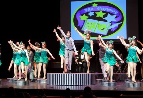 high school theater students home cappies awards annual