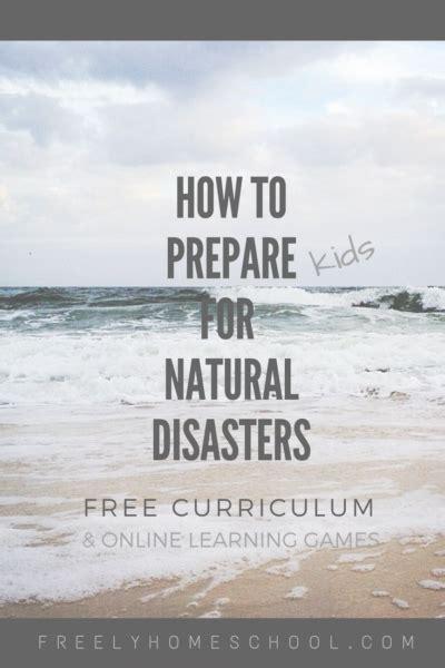 prepare  natural disasters  kids