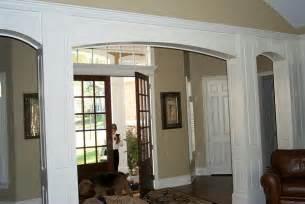 interior home columns interior door archways interior brick archways