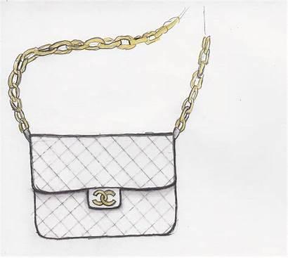 Purse Drawing Handbag Chanel Handbags Sketch Future
