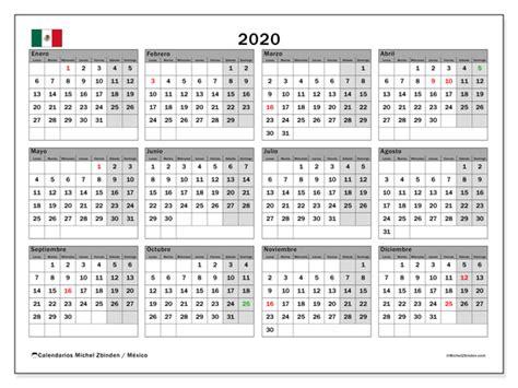 calendario mexico michel zbinden