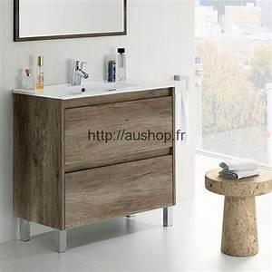 Meuble Salle De Bain Promo : meuble sous vasque salle de bain design pas cher armoire ~ Dode.kayakingforconservation.com Idées de Décoration