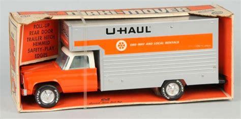 Toy Truck; Nylint, U-haul Moving Van, Max-mover Box, 19 Inch